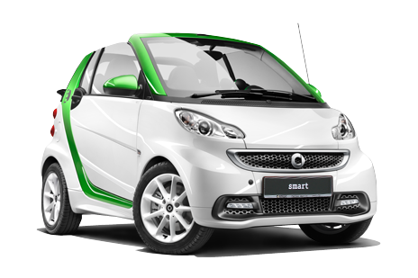 Smart ED Cabrio electric drive